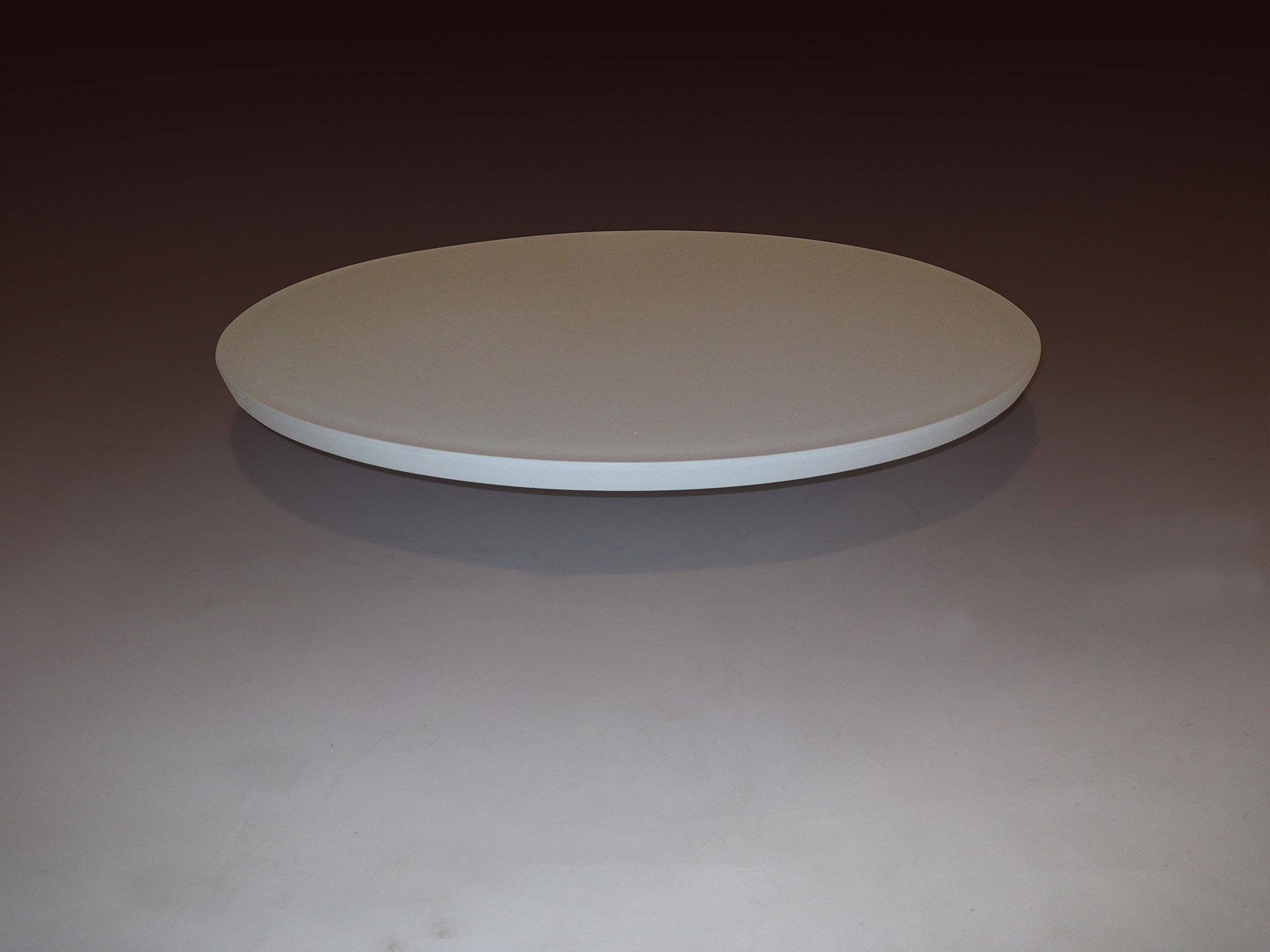 24'' round commercial grade table top, outdoor/indoor, technopolymer fiberglass reinforced, for restaurant and catering - can be adapted to most leg systems. Heavy Duty