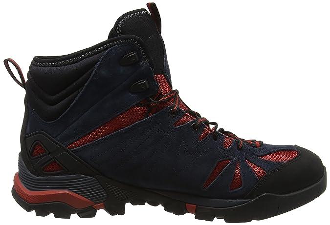 MerrellCapra Mid Gore-tex - Botines de Senderismo hombre, Azul (Navynavy), 46.5 EU: Amazon.es: Zapatos y complementos