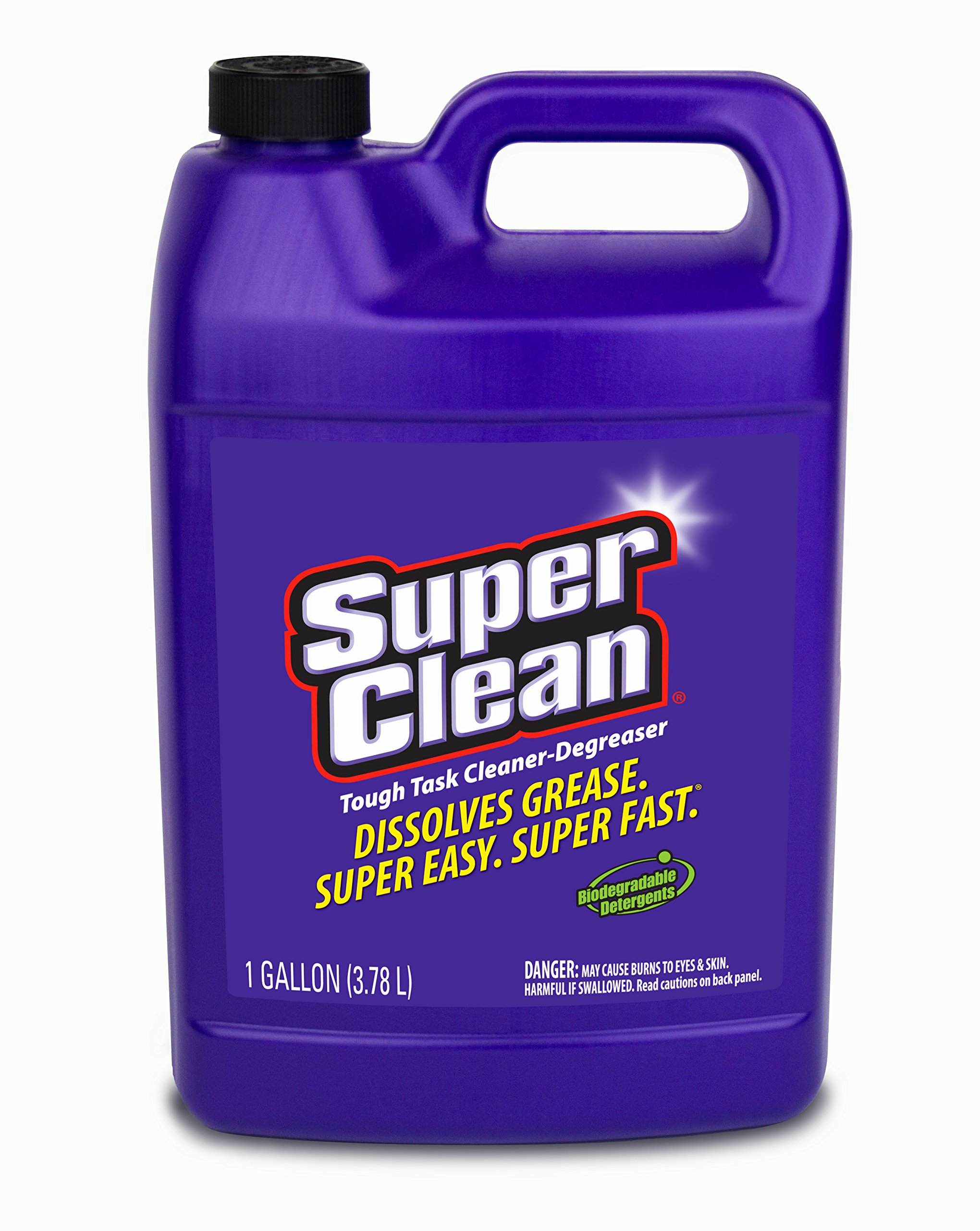 SuperClean (101723-6PK Cleaner Degreaser - 6 Gallon, (Pack of 6) by SuperClean