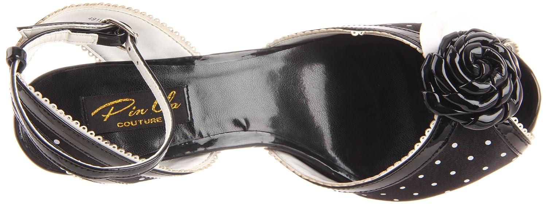 Pleaser Women's B005GJDEBC Bettie-06/B/SA Ankle-Strap Sandal B005GJDEBC Women's 10 B(M) US Black 254cb4
