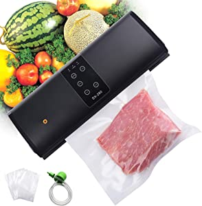 Food Saver Vacuum Sealer, Seal A Meal Vacuum Sealer Machine, Universal Dry Moist Oil Powder Automatic Food Sealer, Home & Commercial Purpose