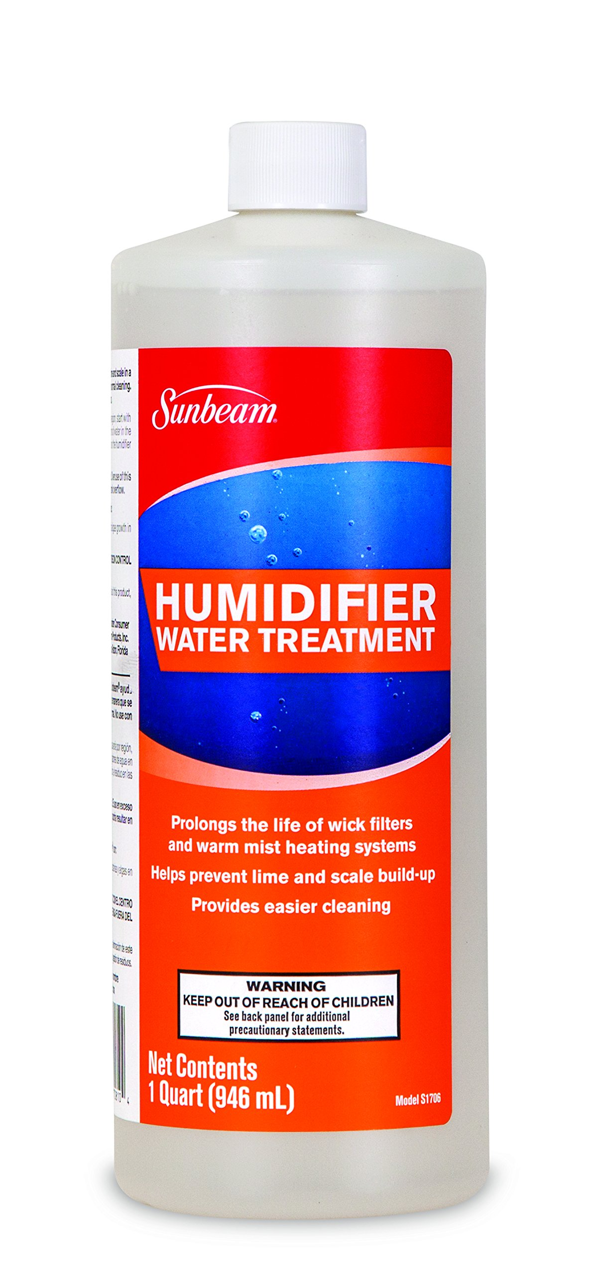 Sunbeam Humidifier Water Treatment Solution 32 oz, S1706PDQ-U by Holmes