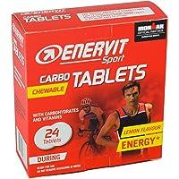 Enervit Sport Carbo kauwtabletten (citroen, 1 x 24 tabletten)