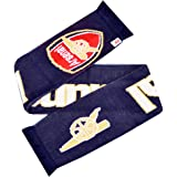 Arsenal FC Official Gunners Football Scarf (One Size) (Navy)