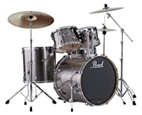 <br /> Pearl EXX725S/C 5-Piece Export New Fusion Drum Set