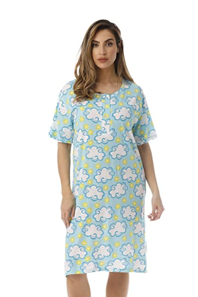 ff55b31953f5 Just Love Short Sleeve Nightgown Sleep Dress for Women Sleepwear  4360-10302-S