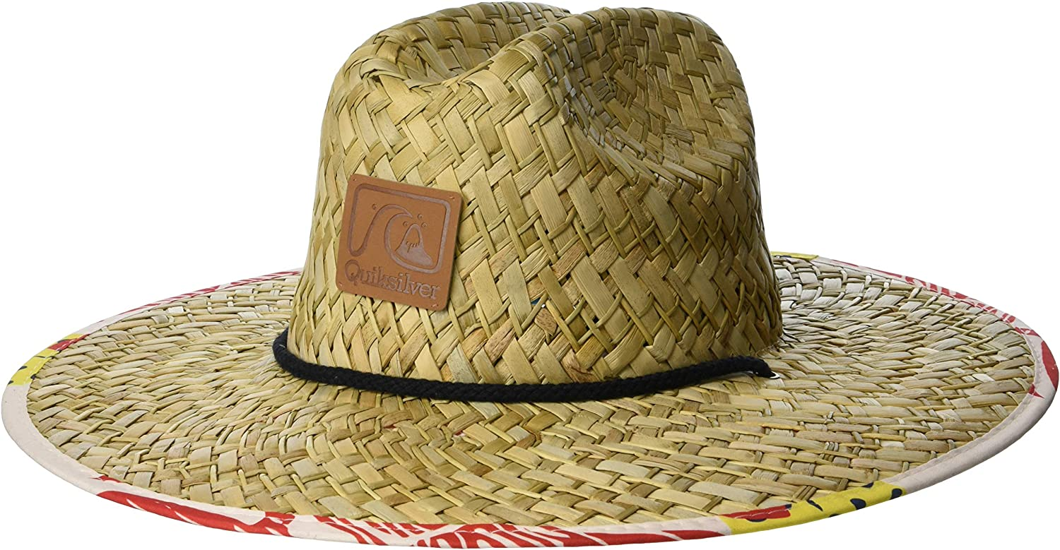 Quiksilver Men's Outsider Straw Sun Protection Hat: Clothing