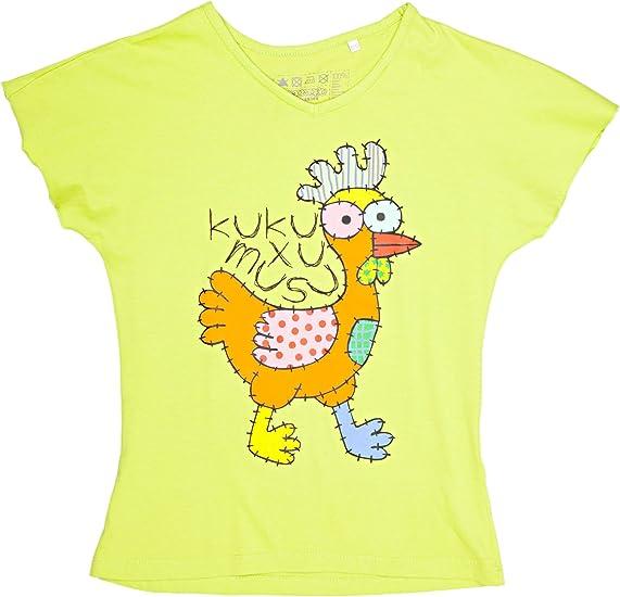 Kukuxumusu Camiseta Gallina Verde 12 años (158 cm): Amazon.es ...