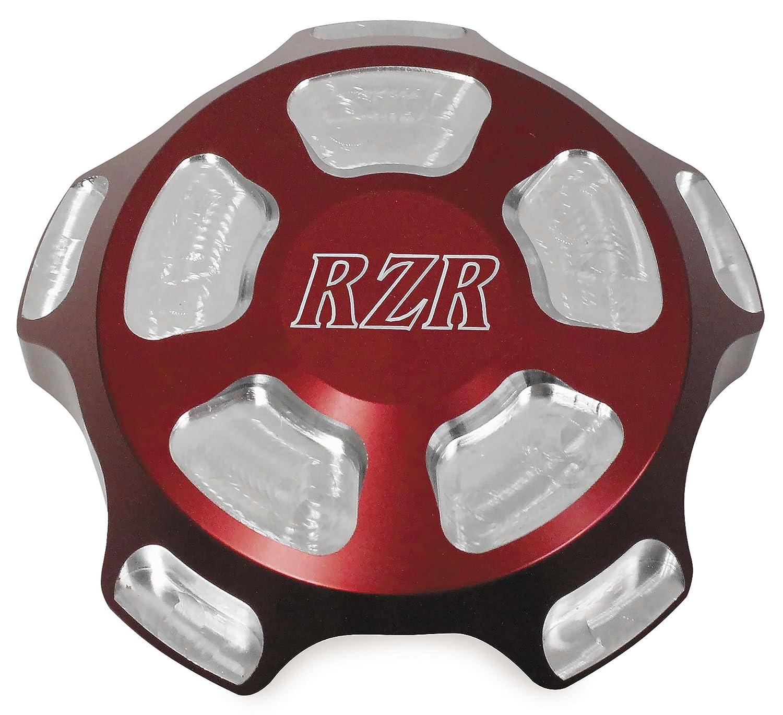 Modquad Red RZR Logo Gas Cap Polaris RZR LEPAZA65115