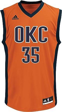 adidas NBA Oklahoma City Thunder Kevin Durant #35 - Camiseta réplica para Hombre, Hombre, 886411543363-Parent, Rojo, X-Large: Amazon.es: Deportes y aire libre
