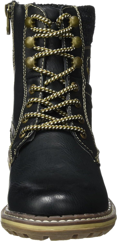 TOM TAILOR Women's 379990930 Boots Schwarz Black