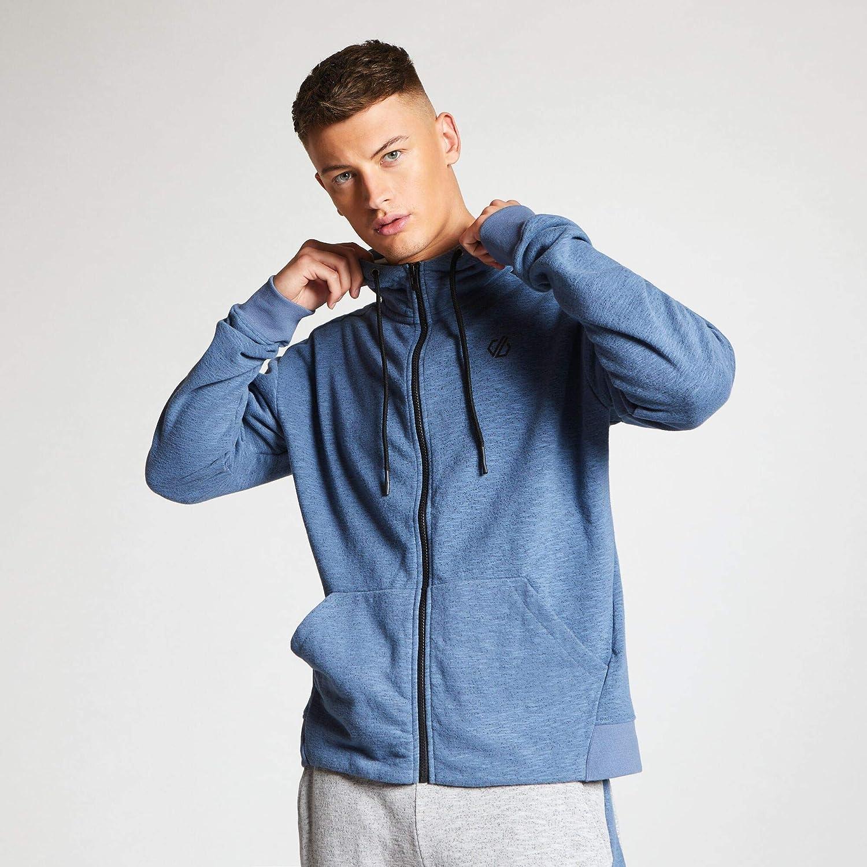 Dare 2b Mens Omneity Full Zip Handwarmer Pocket Hoodie Fleece
