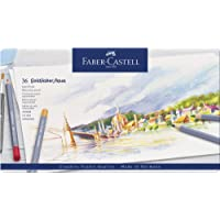 Faber-Castell Goldfaber Aqua Watercolour Pencils Tin of 36, (18-114636)