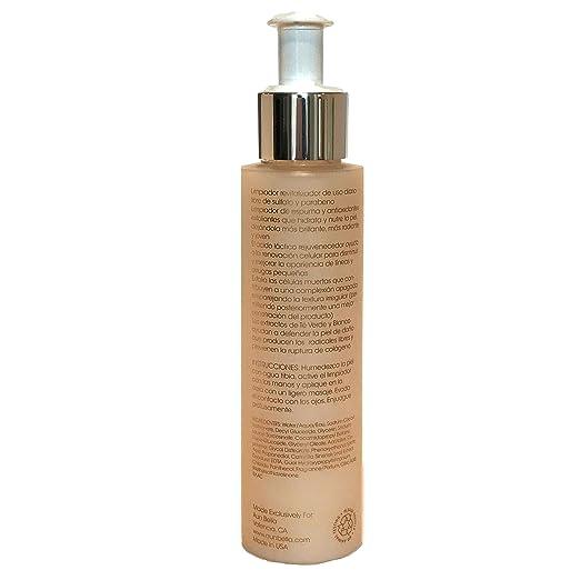 ... Acid - Limpiador Rejuvenecedor con potentes Antioxidantes y Acido Hialuronico para Limpieza Profunda de la piel - 4 fl oz / 118 ml : Beauty