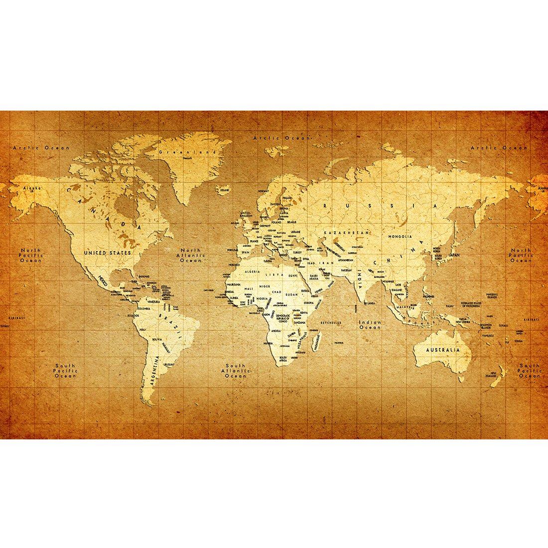 Amazon.com: Meishe Art Vintage Old World Map Poster Print ...