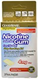 Good Sense Nicotine Polacrilex Gum, 20 Count