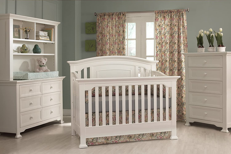 Amazoncom Centennial Medford Lifetime 4in1 Crib White Baby