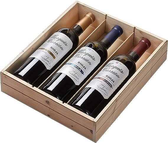 Marqués de Carrión Surtido de 3 Vinos con D.O Rioja: Reserva, Crianza y Vendimia Seleccionada - Pack de 3 Botellas x 750 ml: Amazon.es: Alimentación y bebidas