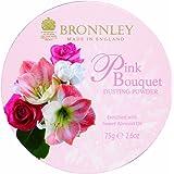 Bronnley Poudre libre à la rose Pink Bouquet 75g