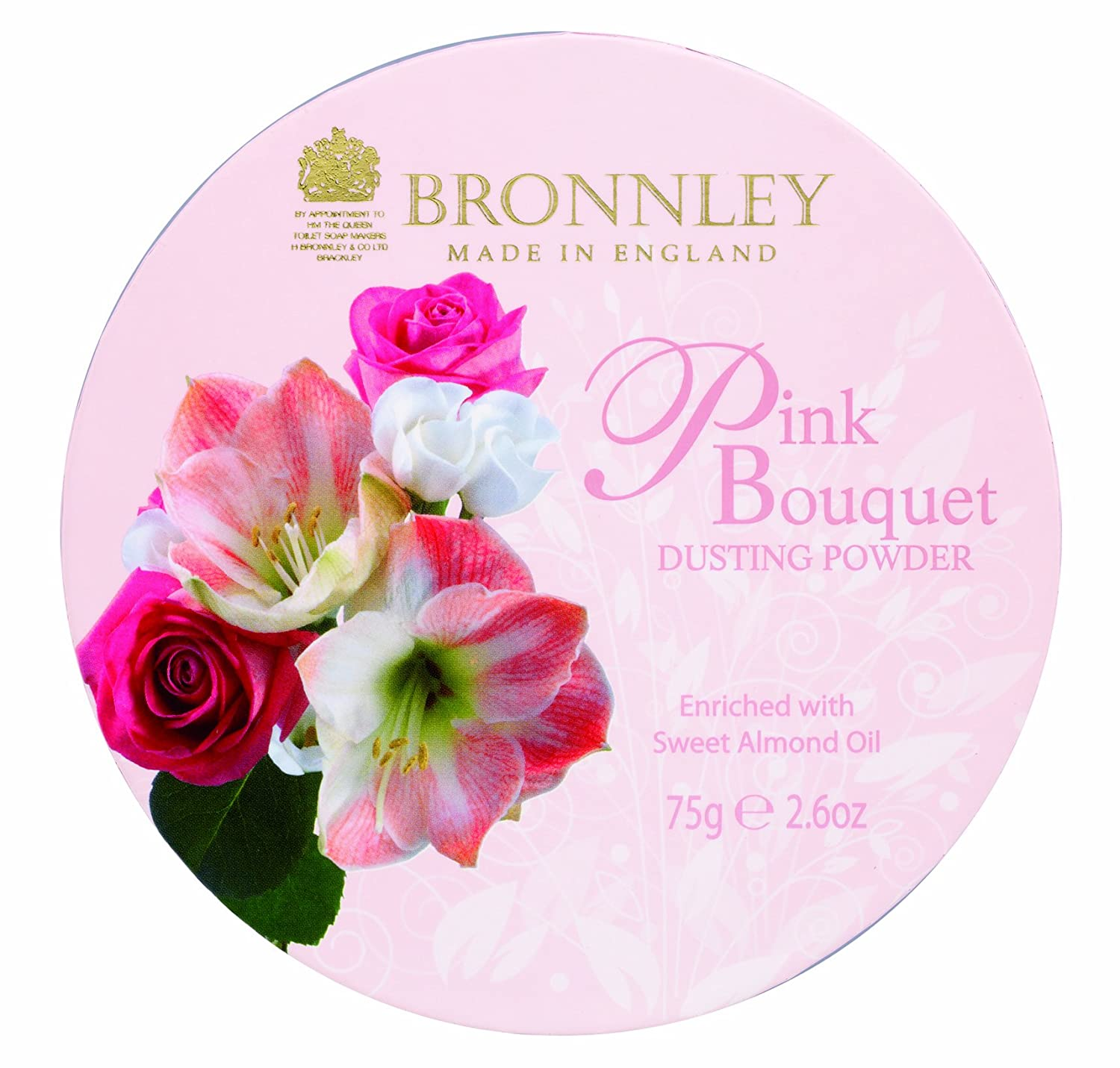 Bronnley Pink Bouquet Dusting Powder 75g H. Bronnley & Co. UK Ltd 112037