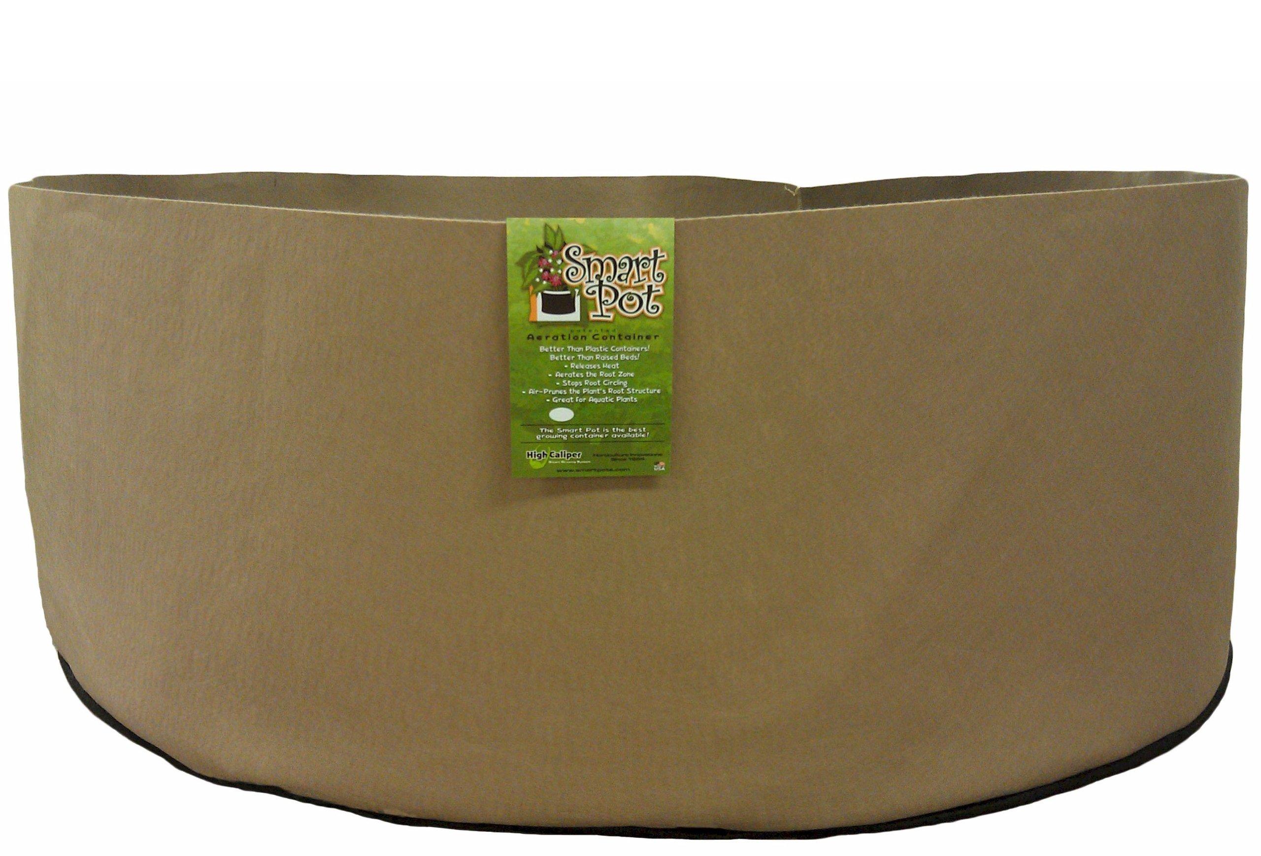 Smart Pots 1,000-Gallon Smart Pot Soft-Sided Container, Tan