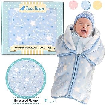 Amazon.com: JOIE BEAN - Manta ajustable para bebé, 2 en 1 ...