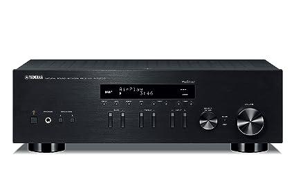 Yamaha R-N303D - Receptor estéreo WiFi, Color Negro
