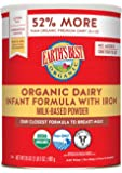 Earth's Best Organic Infant Powder Formula with Iron, Omega-3 DHA & Omega-6 ARA 35 Ounce (Packaging May Vary)