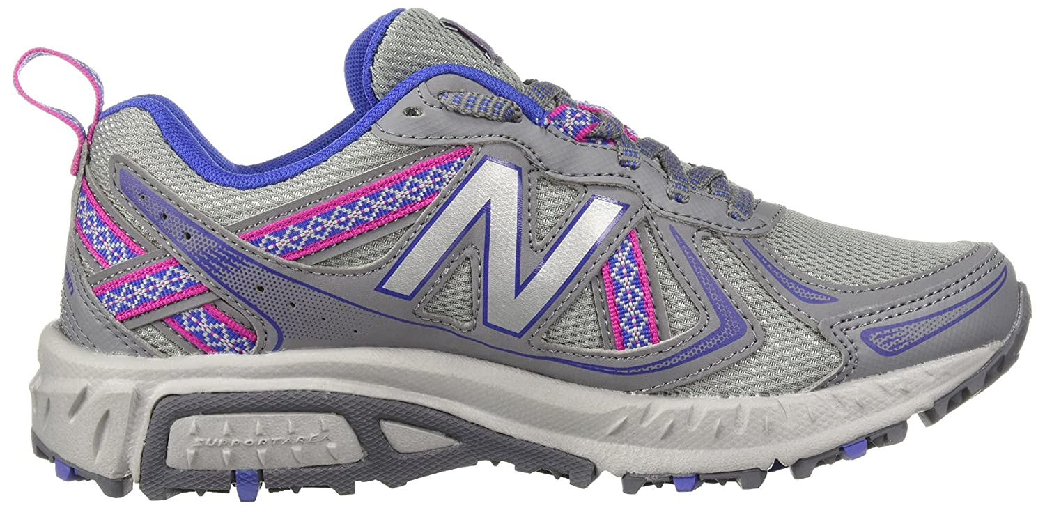New Balance Women's 12 WT410v5 Cushioning Trail Running Shoe B0751GSLR2 12 Women's B(M) US|Steel e65e37