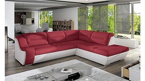 Divano Rosso E Grigio : Justhome galaxy c divano angolare divano letto velluto lxlxa