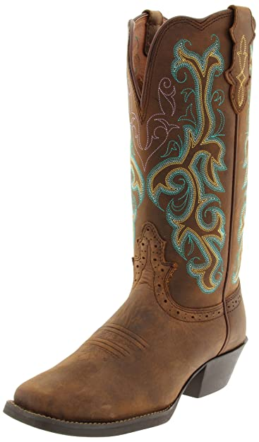 quality design deacd 195d6 Amazon.com | Justin Boots Women's 12
