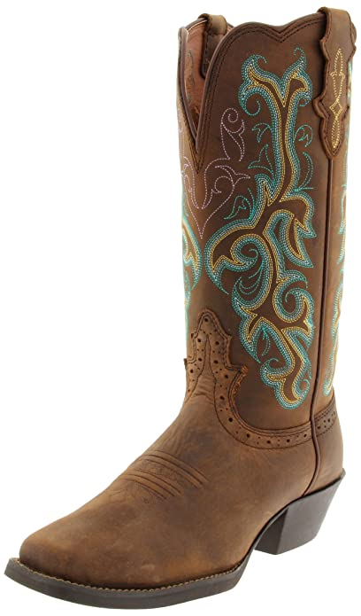 0012a3aae67 Amazon.com   Justin Boots Women's 12