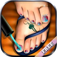 Pedicure Foot Nail Art Salon : pedicure game for girls ! FREE