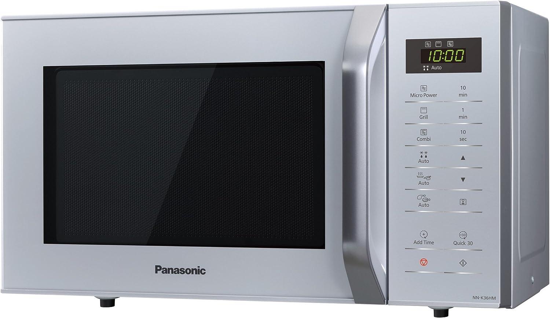 Panasonic NN-K36HM Horno microondas, panel táctil, 800 W, 23 ...