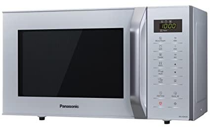Panasonic NN-K36HM Horno microondas, panel táctil, 800 W, 23 litros, plateado