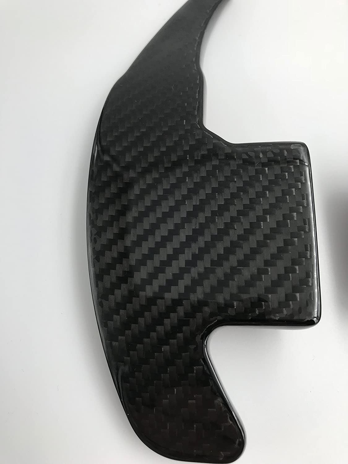 H customs schaltwippen dsg shift paddle aus echtem carbon 2015 2018 für mustang amazon de auto