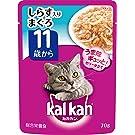 カルカン パウチ 高齢猫用 11歳から しらす入りまぐろ 70g×16袋 (まとめ買い) [キャットフード]