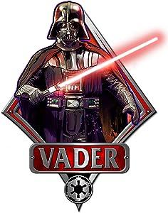 Silver Buffalo SW2006 Disney Star Wars Darth Vader Episode 4 Die Cut Wood Wall Art, 13 x 9.5 inches