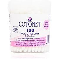 Cotonet - Oorreiniger, staafjes van 100% puur katoen - 100 stuks