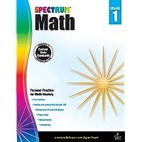 Spectrum | Math Workbook | 1st Grade, 160pgs