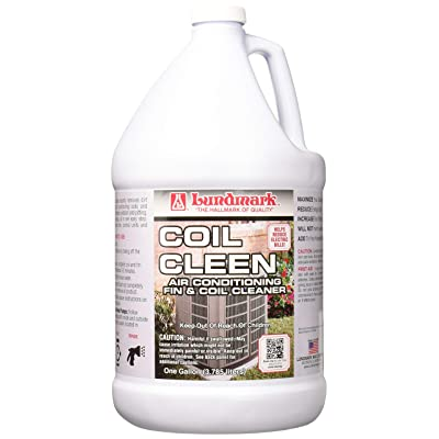 Lundmark Coil Cleen, Air Conditioning Fin & Coil Cleaner, 1-Gallon, 3226G01-2: Home & Kitchen