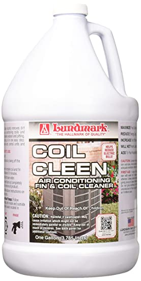 lundmark air conditioning fin & coil cleaner