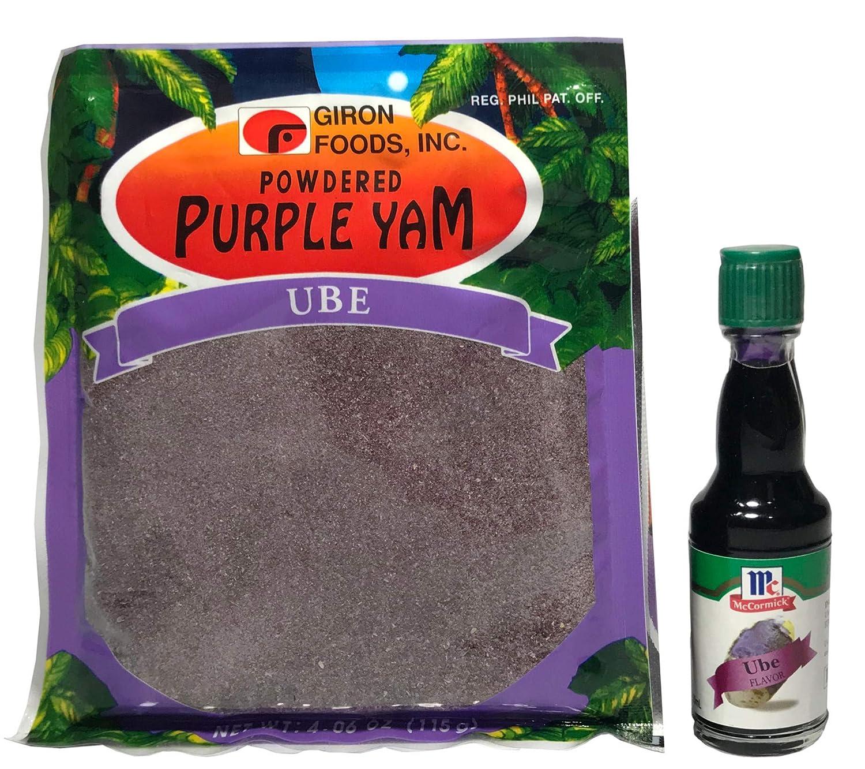 World Food Mission Purple Yam Ube Delight (Giron Powdered Ube and McCormick Ube Flavor)