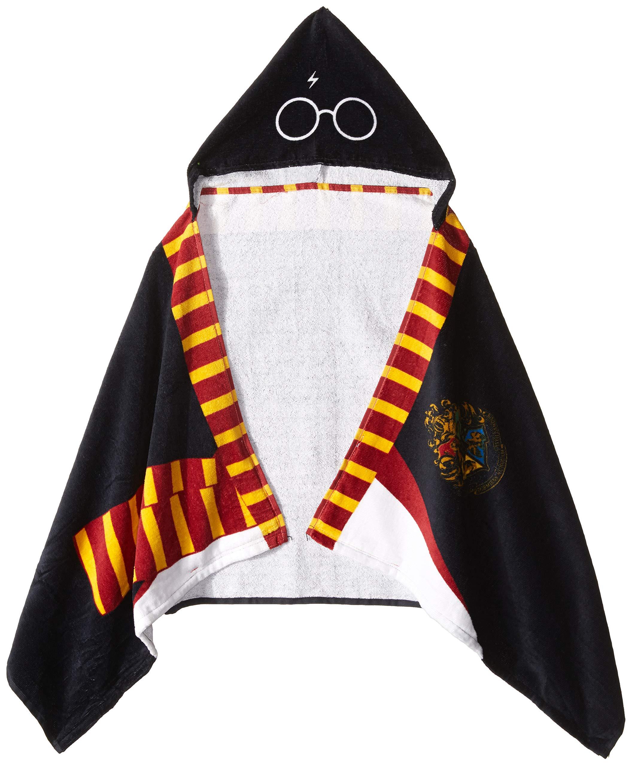 Jay Franco Warner Bros. Harry Potter Hooded Bath/Pool/Beach Towel, Black by Jay Franco