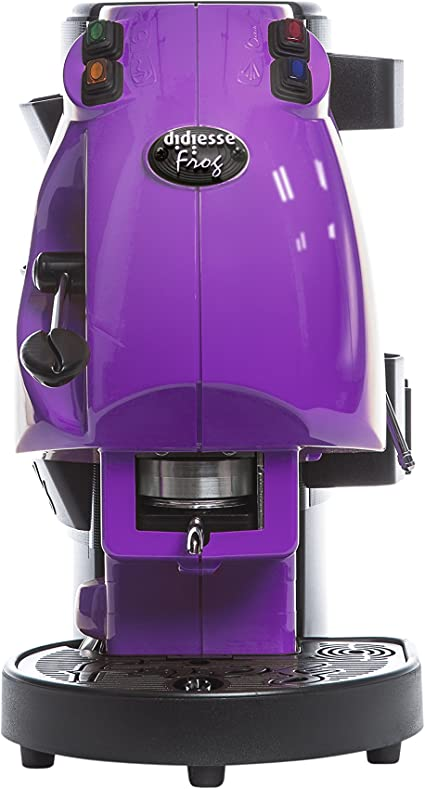 MACCHINA Per CAFFE/' Espresso a cialde da ESE 44mm-DIDIESSE FROG NUOVA-Nero Base