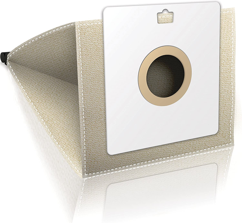 1 pieza, Lienzo ✧WESSPER/® Bolsa de aspiradora reutilizable para Samsung 1300W Check Bag