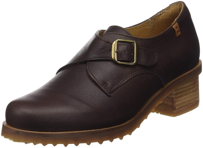 El Naturalista N5109 Soft Grain Brown/Kentia, Zapatos de Tacón con Punta Cerrada para Mujer 36 EU