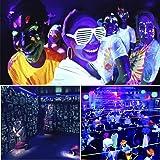 Exulight Black Lights,UV LED Bar,12LEDs x 3W
