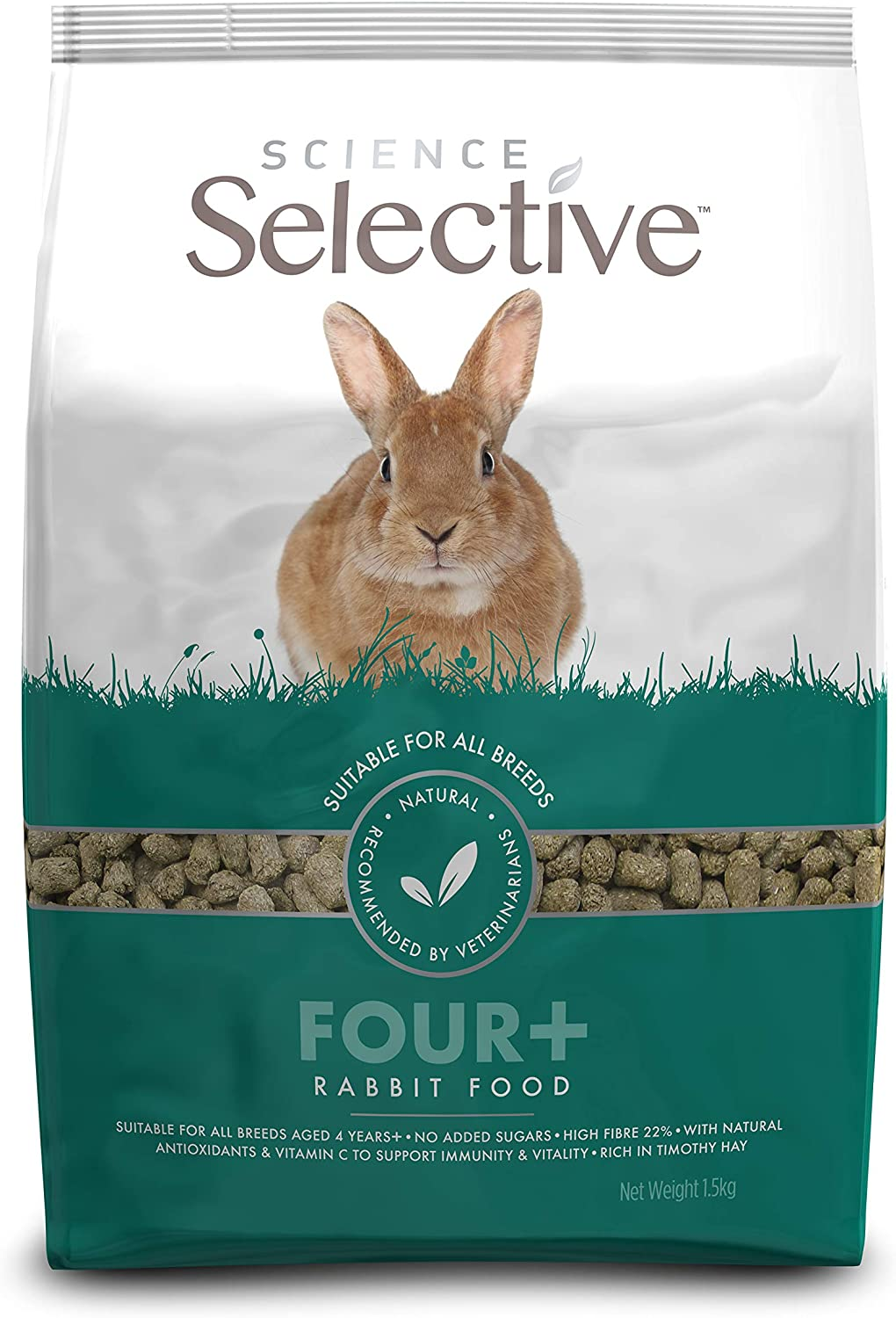 Supreme Petfoods Science Selective Rabbit Mature 1.5kg
