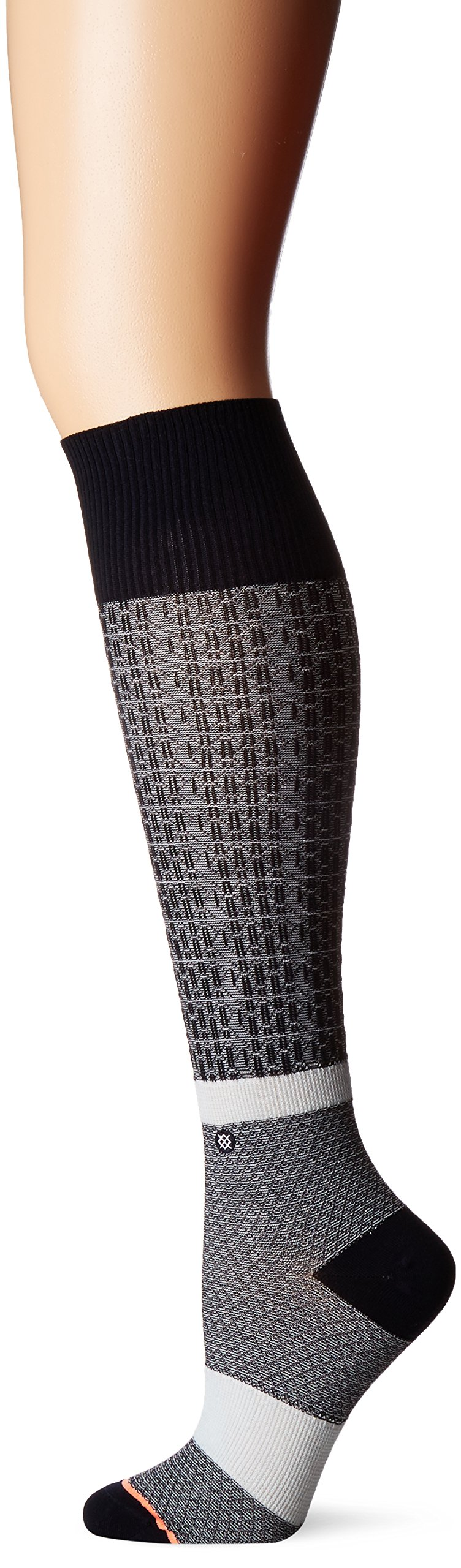 Stance Women's Library Graphic Arch Support Tall Boot Sock, Navy, One Size